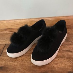 Steve Madden Fur Shoes